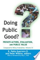 Doing Public Good
