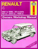 Renault 4 Owners Workshop Manual
