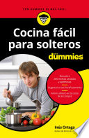 Cocina f  cil para solteros para Dummies