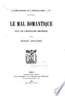 La philosophie de l imp  rialisme  Le mal romantique essai sur l imp  rialisme irrationnel