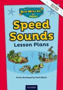 Phonics Speed Sounds Lesson Plans