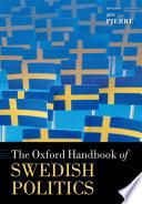 The Oxford Handbook of Swedish Politics