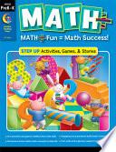 MATH PLUS  Step Up  Grade PreK   K  eBook