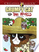 Creative Haven Grumpy Cat Vs  The World Coloring Book
