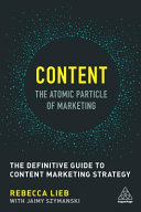 Content   the Atomic Particle of Marketing
