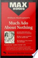 Much Ado about Nothing  MAXNotes Literature Guides