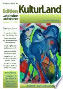 Edition KulturLand Ausgabe 1/2015