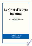 Le Chef-d'oeuvre inconnu De Balzac Specialement Concue Pour La Lecture