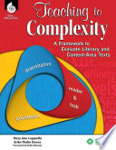 Teaching to Complexity  A Framework to Evaluate Literary and Content Area Texts