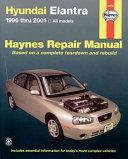 Haynes Hyundai Elantra 1996 Thru 2001