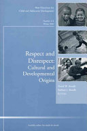 Respect and disrespect Themselves Institutions And Traditions Disrespect Dissolves Positive