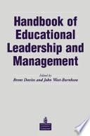 Handbook of Educational Leadership and Management