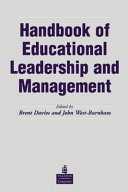 Handbook of Educational Leadership and Management