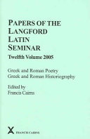 Greek and Roman Poetry