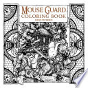Mouse Guard  Coloring Book