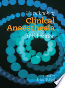 Handbook of Clinical Anaesthesia 3E