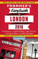 Frommer s EasyGuide to London 2016
