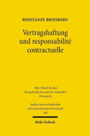 Vertragshaftung und responsabilité contractuelle