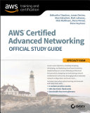 Aws Certified Advanced Networking Official Study Guide Sybex 2018