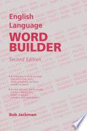 English Language Word Builder