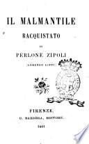 Il Malmantile racquistato di Perlone Zipoli  Lorenzo Lippi
