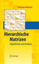 Hierarchische Matrizen