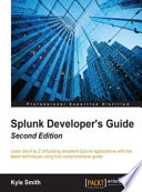 Splunk Developer s Guide