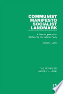 Communist Manifesto  Works of Harold J  Laski