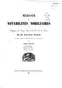 download ebook miroir des notabilités nobiliaires de belgique, des pays-bas et du nord de la france pdf epub