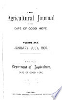 The Agricultural Journal of the Cape of Good Hope