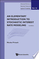 An Elementary Introduction To Stochastic Interest Rate Modeling