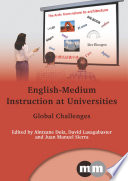 English Medium Instruction at Universities