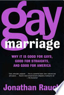 Gay Marriage The Best Way To Preserve And Protect Society S