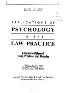 Applications of psychology in the law practice