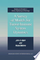 A Survey of Models for Tumor Immune System Dynamics