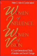 Women of influence  women of vision