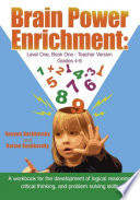 Brain Power Enrichment  Level One  Book One   Teacher Version Grades 4 to 6