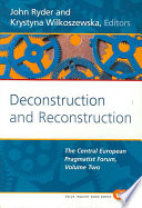 Deconstruction and Reconstruction