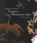 Summary Catalogue of European Decorative Arts in the J  Paul Getty Museum