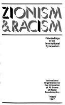 Zionism   racism