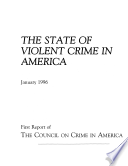 State Of Violent Crime In America