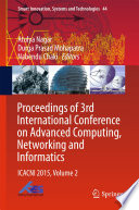 Proceedings of 3rd International Conference on Advanced Computing  Networking and Informatics