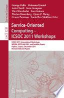 Service Oriented Computing   ICSOC 2011 Workshops
