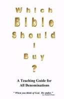 Which Bible Should I Buy