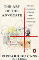 The Art of the Advocate Book PDF