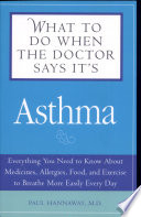 What To Do When The Doctor Says Its Asthma