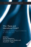War  Peace and International Order