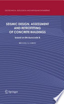 Seismic Design  Assessment and Retrofitting of Concrete Buildings