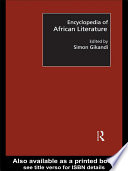 Encyclopedia of African Literature
