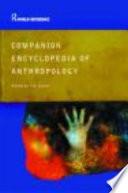 Companion Encyclopedia of Anthropology